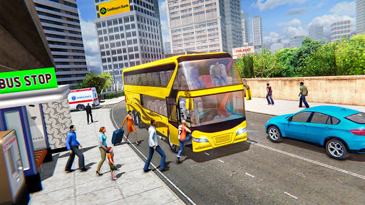 Modern Bus Drive :Hill Station  screenshots 13