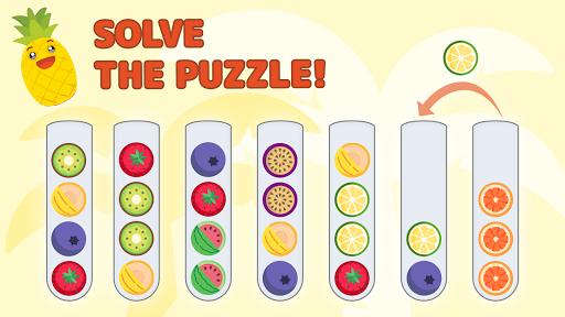 Sort Color Balls - puzzle game  screenshots 6