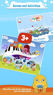 Magic Kinder Official App - Free Family Games