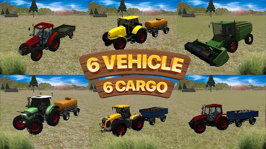 Real Farm Tractor Game 2021 3D Apk 1