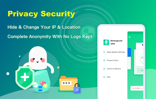 NetCapsule VPN | Free VPN Proxy, Fast VPN, Unblock 1.1.300 Screenshots 5
