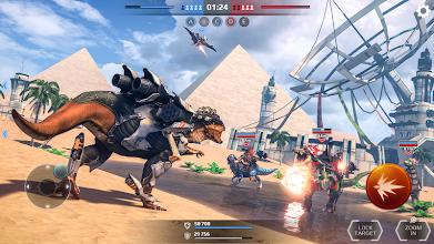 Jurassic Monster World: Dinosaur War 3D FPS screenshot thumbnail