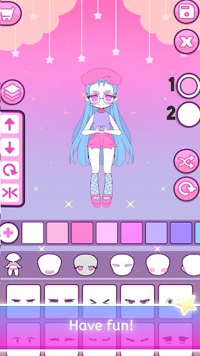 Mimistar - Pastel chibi doll girl dress up maker  screenshots 16