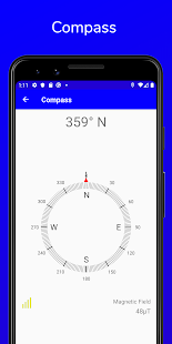 Hiker - Accurate Compass, Speedometer, GPS Tools