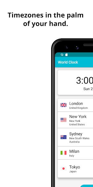 World Clock - Timezones and Travel Infos
