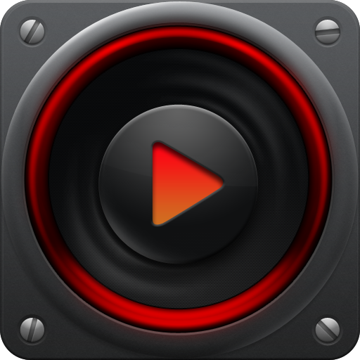 PlayerPro Red Fusion Skin