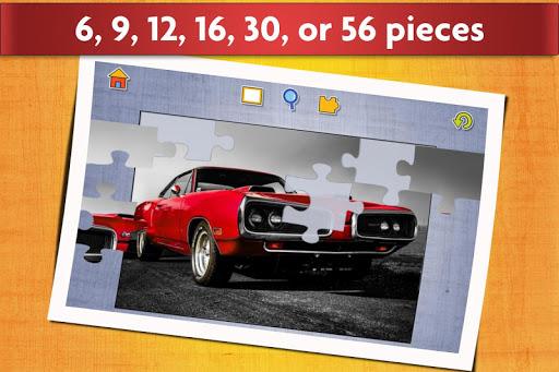 Sports Car Jigsaw Puzzles Game - Kids & Adults ud83cudfceufe0f screenshots 3