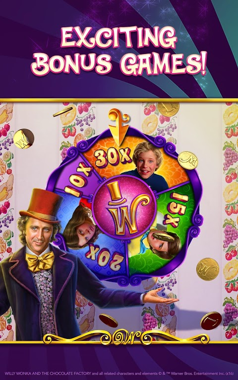 Willy Wonka Slots Free Casino  poster 19