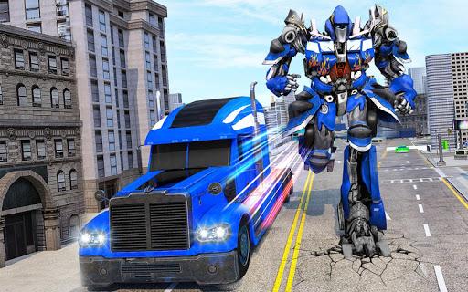 Indian Police Robot Transform Truck 1.14 screenshots 13