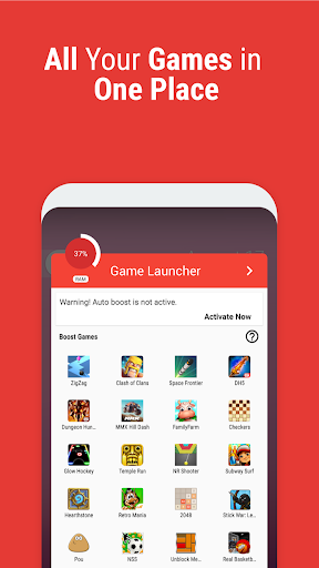 Game Booster | Launcher - Faster & Smoother Games android2mod screenshots 3