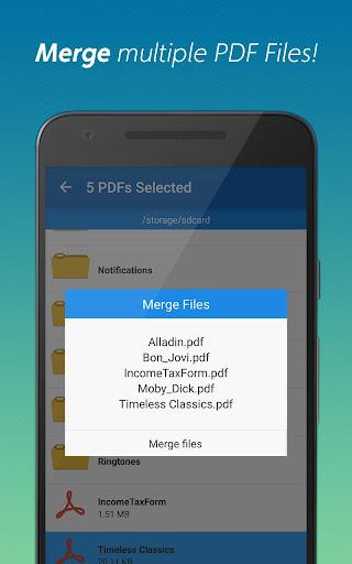 Download APK: PDF converter pro & PDF editor – pdf merge v6.14 [Paid]