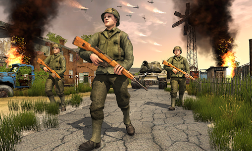 Frontline World War 2 Survival Mod Apk (God Mode) 3
