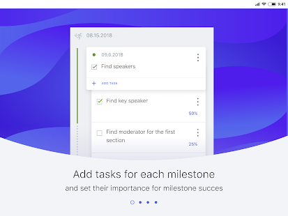WinGo Plan: visual project manager & goals planner