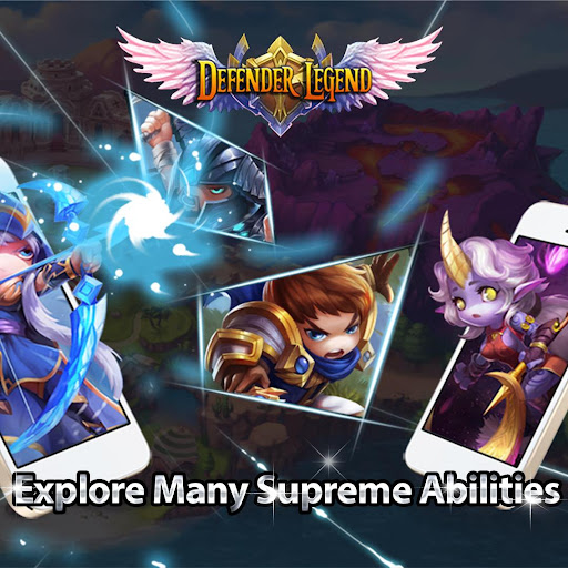 Defender Legend Premium: Hero Champions TD  screenshots 6