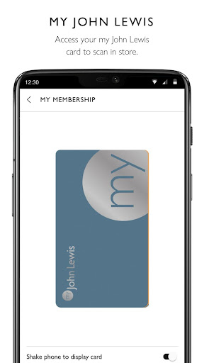 John Lewis & Partners modavailable screenshots 5