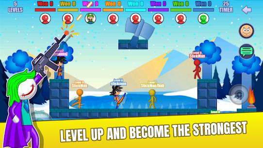 Stick Fight Online: Multiplayer Stickman Battle Mod Apk 2.0.36 (Unlimited Money) 6