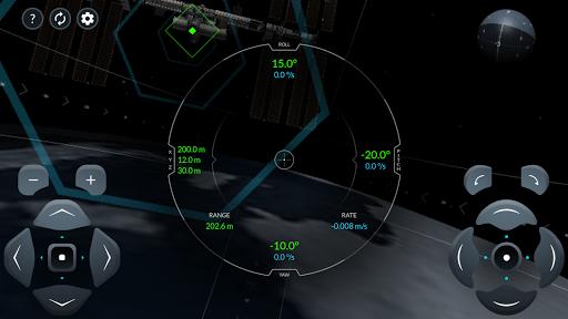 Space X Dragon To ISS Docking Simulator  screenshots 2