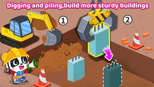 Baby Panda's Earthquake-resistant Building  Screenshots 12