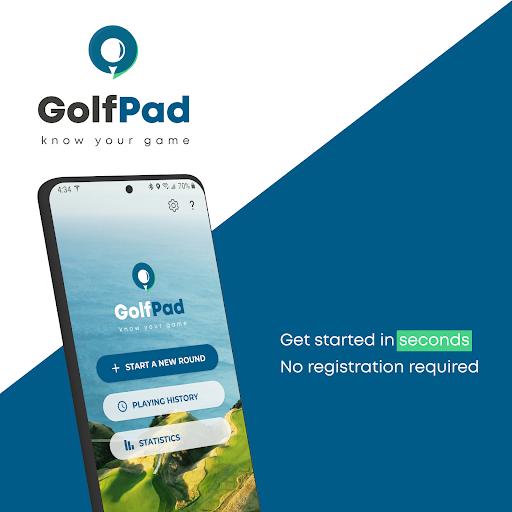 Golf GPS Rangefinder: Golf Pad android2mod screenshots 1