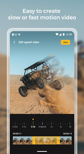 Slow motion - Speed up video - Speed motion 1.0.51 Screenshots 6