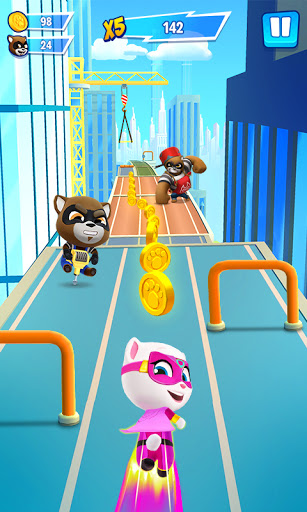 Talking Tom Hero Dash - Run Game 2.3.2.1351 screenshots 1