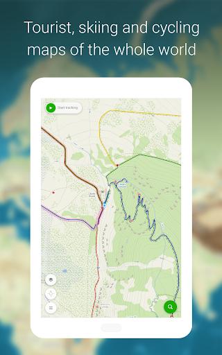 Mapy.cz - Cycling & Hiking offline maps 7.6.1 Screenshots 19