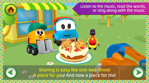 Leo the Truck: Nursery Rhymes Songs for Babies Apkfinish screenshots 10