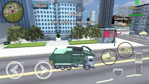 Crime Angel Superhero - Vegas Air Strike Apkfinish screenshots 15
