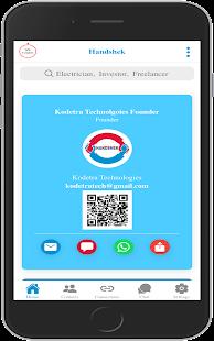 Download Handshek - Digital Business Card & Networking app For PC Windows and Mac apk screenshot 7