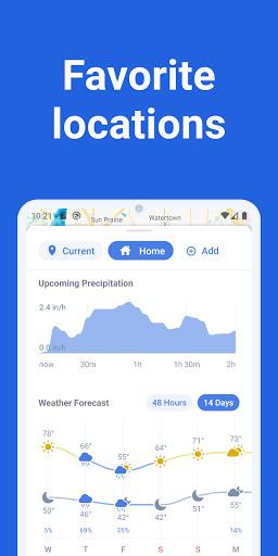 RainViewer: Weather forecast & storm tracker  screenshots 2