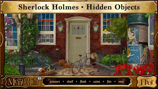 Hidden Object Games - Detective Sherlock Holmes 1.6.014 screenshots 1
