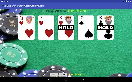 Five Card Draw Poker  screenshots 11