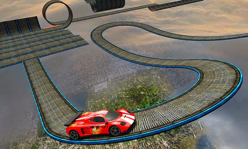 Impossible Stunt Car Tracks 3D screenshots 2