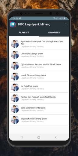 Lagu Ipank Minang Lengkap Offline Terbaru 2021 MP3  screenshots 1