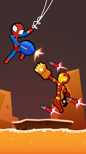 Spider Stickman Fighting 3 - Supreme Duelist Apkfinish screenshots 1