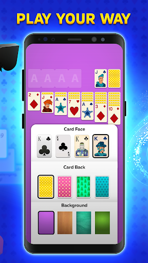 Solitaire Play u2013 Classic Klondike Patience Game screenshots 3