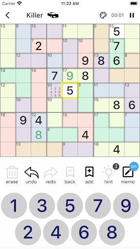 All Sudoku - 5 kinds of sudoku puzzle in one app screenshots 4