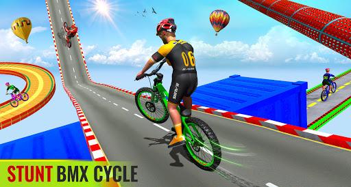 BMX Bicycle Racing Stunts 3D Mega Ramp Cycle Games 2.7 screenshots 8