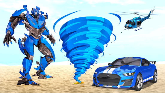 Grand Tornado Robot Car Transform: War Robot Games 1.3.5 Screenshots 23