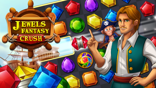 Jewels Fantasy Crush : Match 3 Puzzle apkpoly screenshots 9