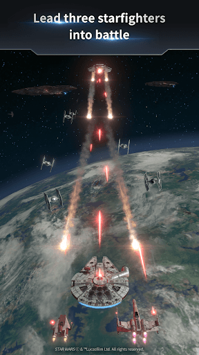 Star Warsu2122: Starfighter Missions apkpoly screenshots 2