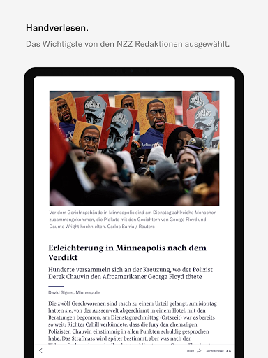 NZZ E-Paper modavailable screenshots 5