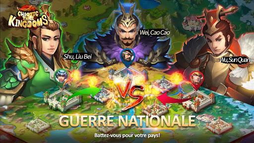 Chaotic Three Kingdoms: Epic heroes war APK MOD – Pièces Illimitées (Astuce) screenshots hack proof 2