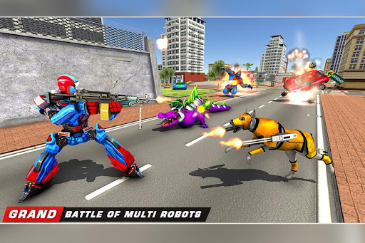 Scorpion Robot Transforming u2013 Robot shooting games  screenshots 7