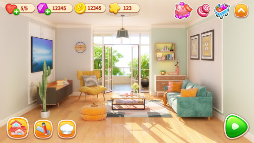 Cooking Home: Design Home in Restaurant Games 1.0.25 Screenshots 19