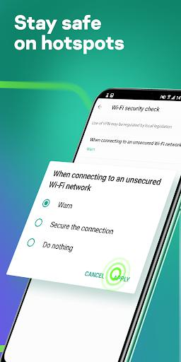 Fast Free VPN u2013 Kaspersky Secure Connection apktram screenshots 3