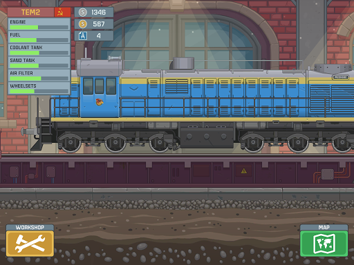 Train Simulator - 2D Railroad Game  Pc-softi 14
