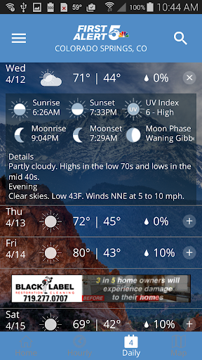First Alert 5 Weather App  Paidproapk.com 3