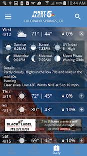 First Alert 5 Weather App 5.3.702 Screenshots 3