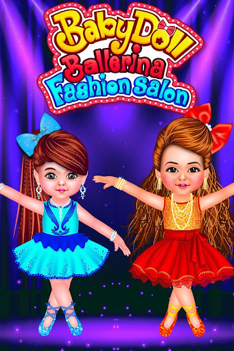 Baby Doll Ballerina Salon - Dance & Dress Up Game screenshots 1
